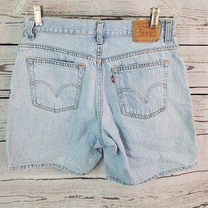 "Vintage Levi's High Rise Denim Shorts 12 Mis 31""W"